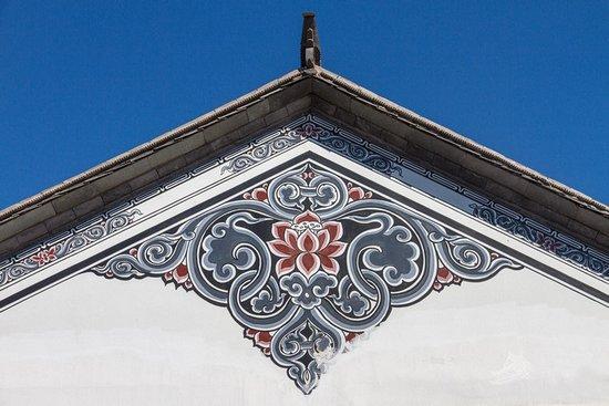 白族文化墙手绘