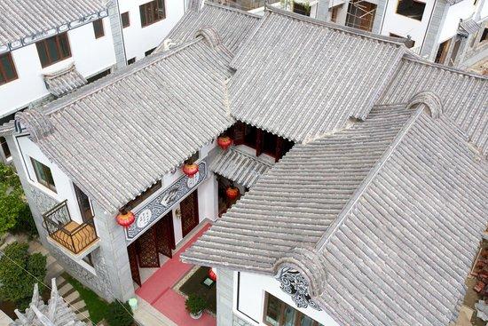 大理古城三合院实景图好辽宁海边别墅哪图片