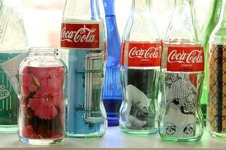 1,玻璃瓶相框