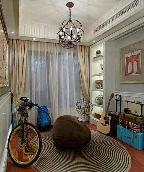 拥抱浪漫与时尚 90平法式风格二居室