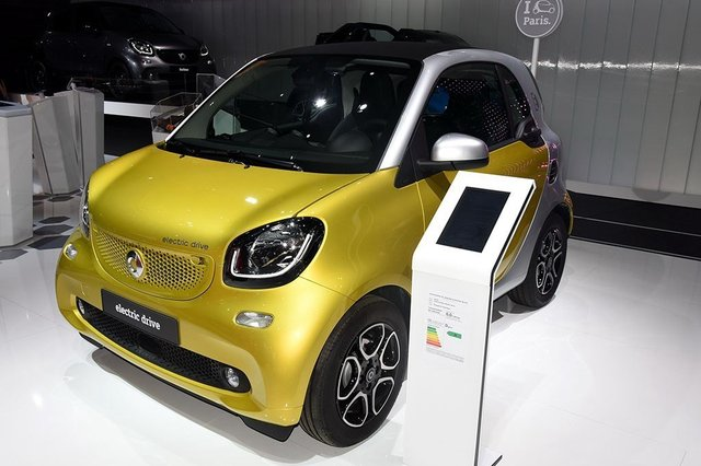 smart fortwo 新能源