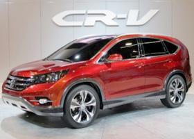 CR-V 2012款 2.4L AT尊贵版VTi-S 四驱