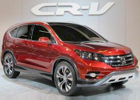 CR-V 2012款 2.4L AT豪华版VTi 四驱