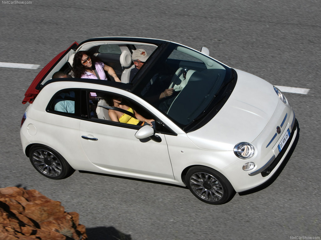 菲亚特500 2012款 1.4L Pop敞篷时尚版