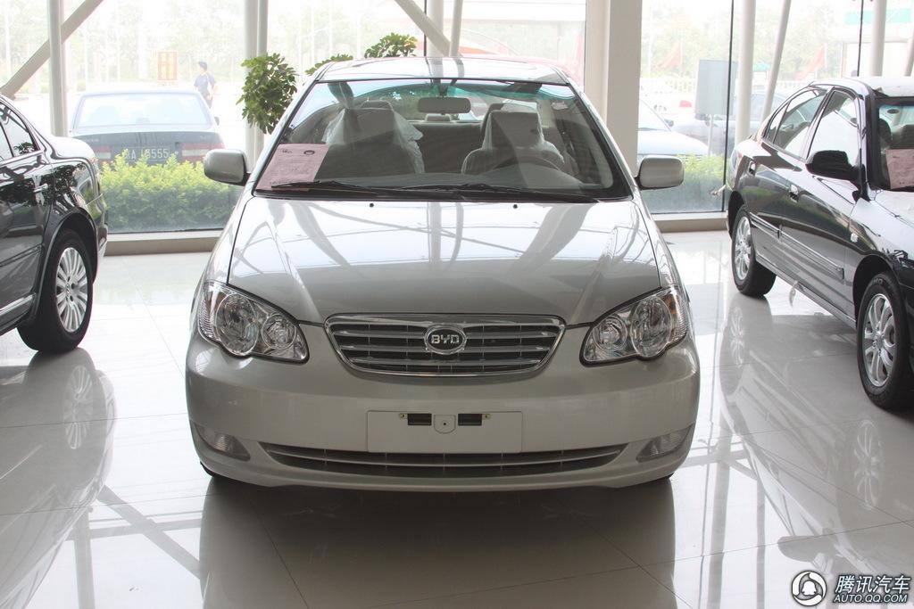 2009款比亚迪F3智能白金版豪华型GLX-i 到店实拍