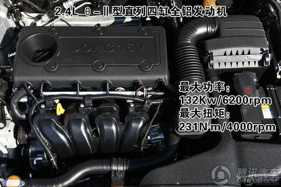 2011款 起亚K5 2.4L PREMIUM版 重点图解