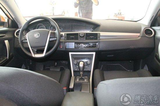 2012款 MG6 掀背版 1.8 DVVT AT舒适版
