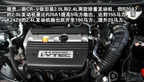 本田CR-V 2012款 2.4L AT豪华版VTi