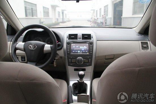 2011款 丰田卡罗拉1.8L GL-i 6MT 加装导航