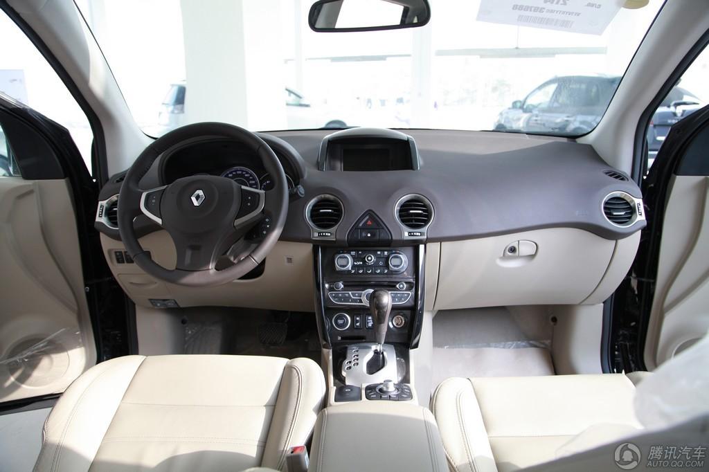 2012款 科雷傲 2.5 四驱 舒适导航版
