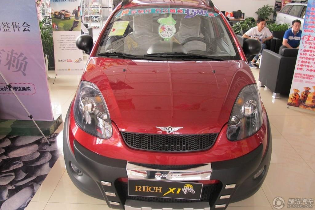 2012款 瑞麒X1 1.5 手动豪华型