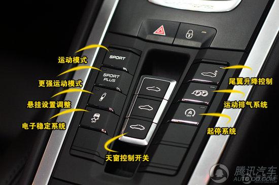 2012款保时捷911 Carrera S 重点图解