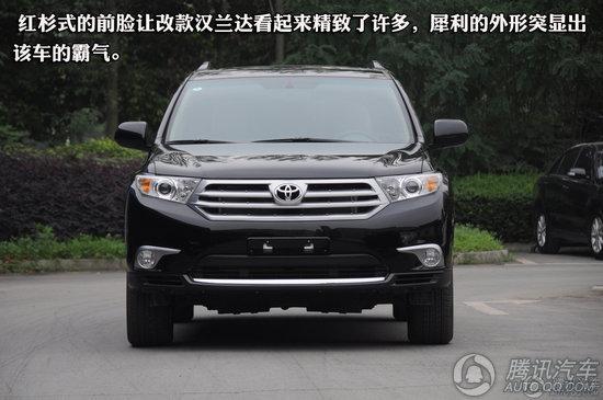 丰田汉兰达 2012款 2.7L 两驱豪华版 7座