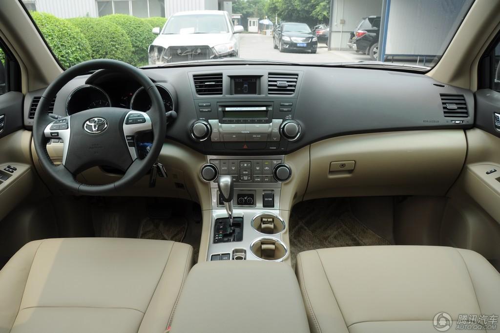 2012款 汉兰达 2.7L 两驱豪华版 7座