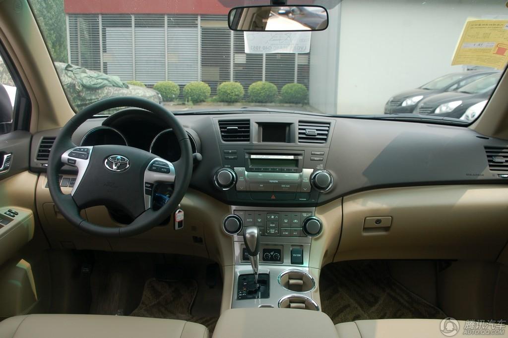 2012款 汉兰达 3.5L 四驱豪华版 7座