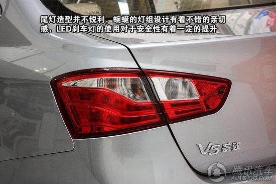 2012款 东南v5菱致1.5l exi cvt旗舰型 重点图解高清图片