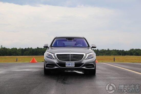 全新奔驰S级轿车S500实拍图