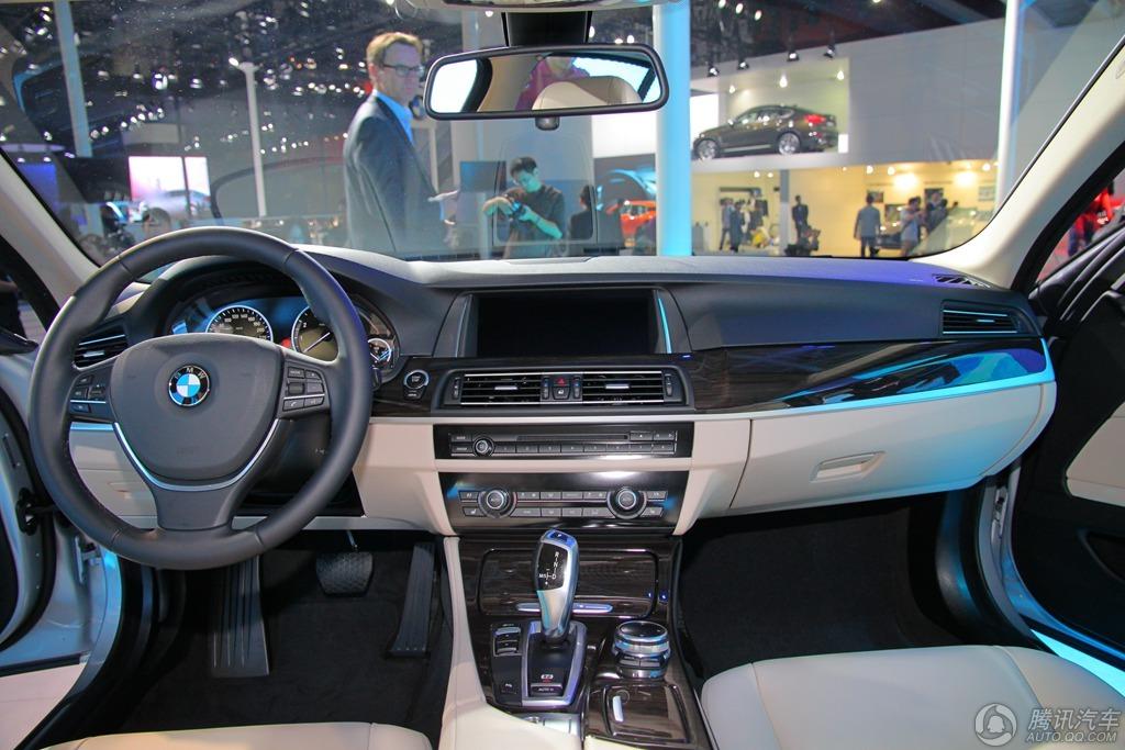 BMW 新530Le混合动力_2014广州车展实拍