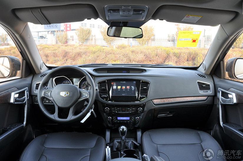 2014款 吉利汽车豪情SUV 2.4L MT四驱尊贵型