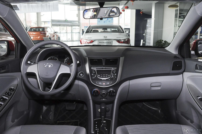 2014款 现代瑞纳 三厢 1.4L GLX AT领先型
