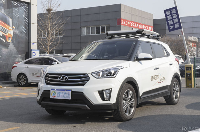 2015款 北京现代ix25 2.0L DLX AT四驱尊贵型