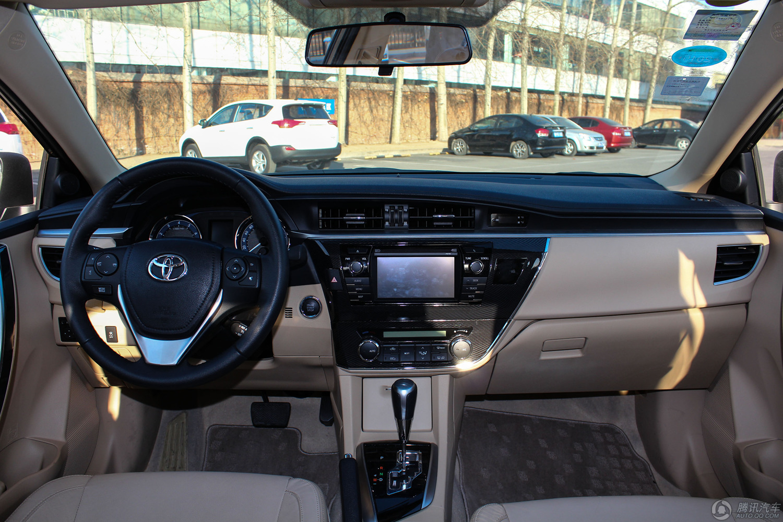 2014款 丰田卡罗拉 1.8L CVT Premium至高版