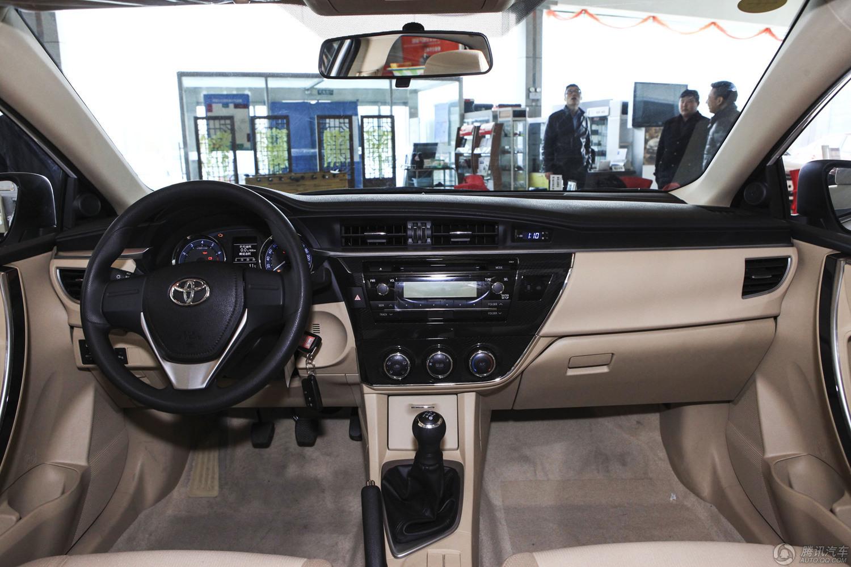 2014款 丰田卡罗拉 1.6L MT GL-i