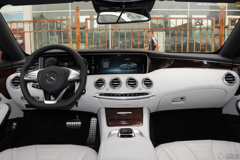 奔驰 奔驰S级 2015款 S 500 Coupe 4MATIC