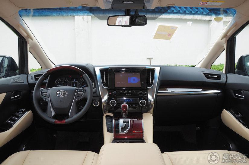 丰田 埃尔法 2015款 3.5L AT豪华版