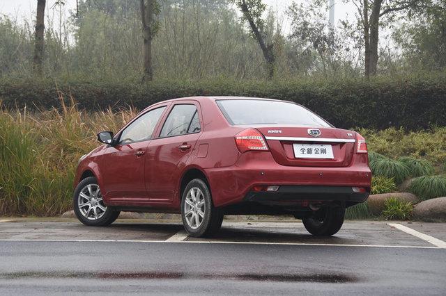 吉利汽车 金刚 2016款 1.5L AT尊贵型(国V)