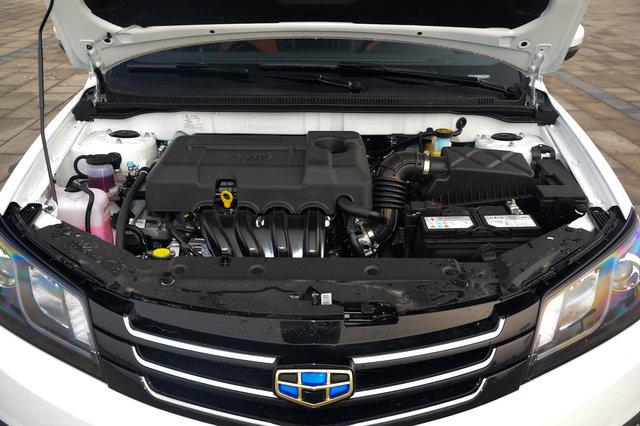吉利 新帝豪  2016款 两厢RS 1.5L CVT向上版