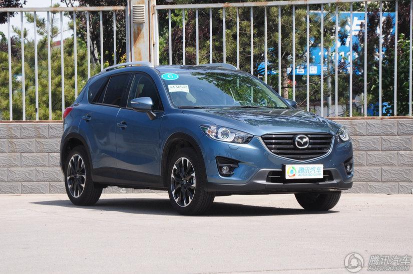 [腾讯行情]桂林 马自达CX-5促销优惠1.6万