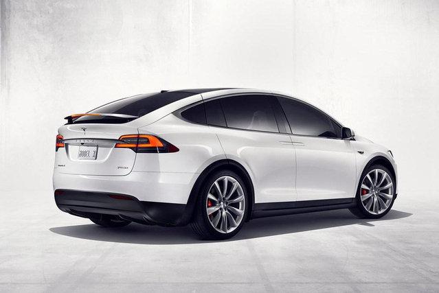 特斯拉model X 特斯拉 Suv 腾讯汽车