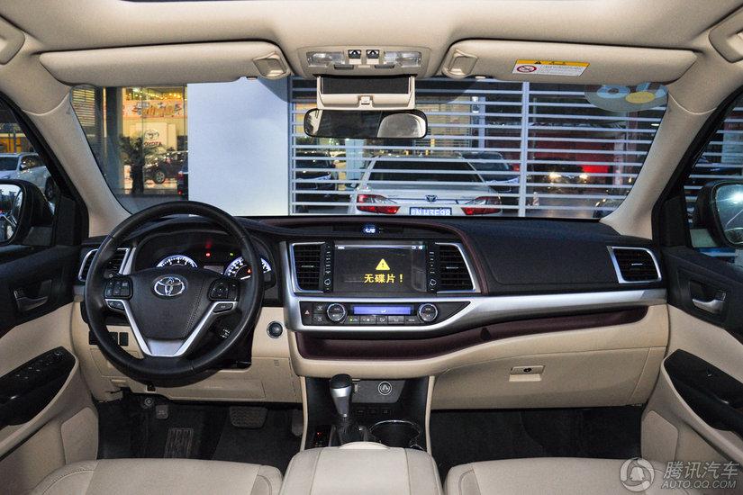 丰田汉兰达 2015款 2.0T AT四驱至尊版(7座)