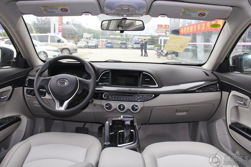 传祺GA6 2015款 1.8T AT舒适型