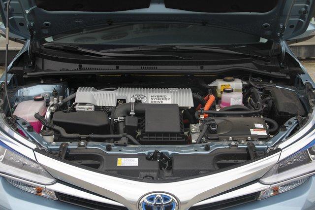 卡罗拉 2016款 双擎 1.8L CVT旗舰版