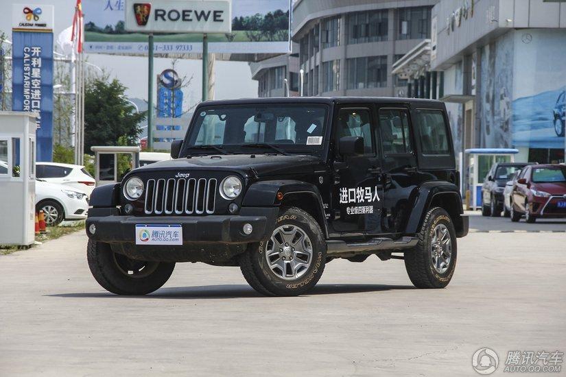 [腾讯行情]东莞 Jeep牧马人优惠达2.8万