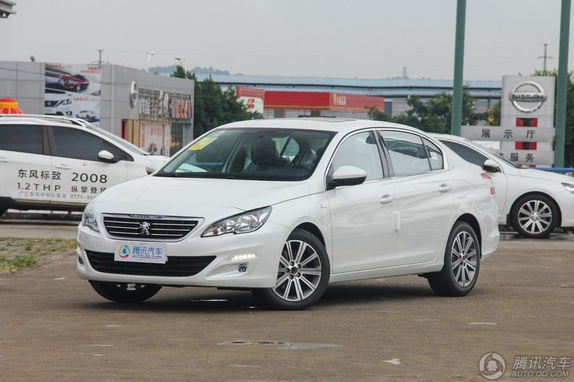[腾讯行情]韶关 标致408购车降价达2.3万