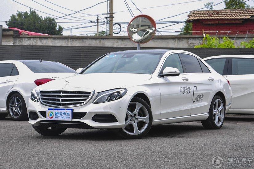 [腾讯行情]广州 奔驰C级现金优惠9.02万