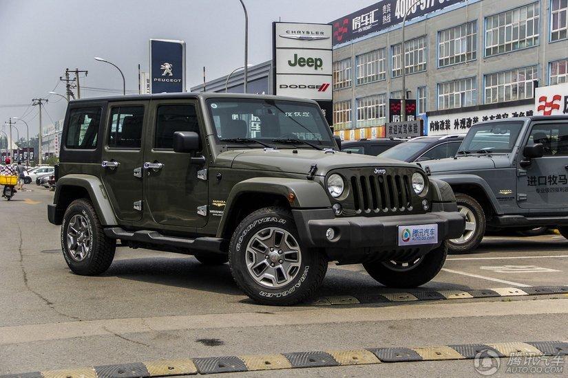 [腾讯行情]南宁 Jeep牧马人优惠4.03万元