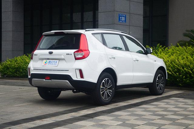 远景SUV 2016款 1.3T CVT旗舰型