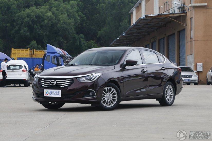 [腾讯行情]江门 传祺GA6购车优惠1.73万