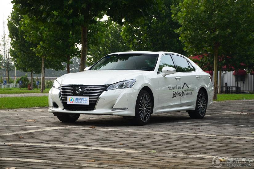 [腾讯行情]天津 丰田皇冠价格直降2.5万