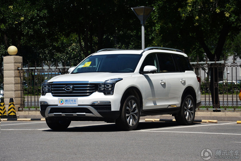 [腾讯行情]周口 传祺GS8现车售16.38万起