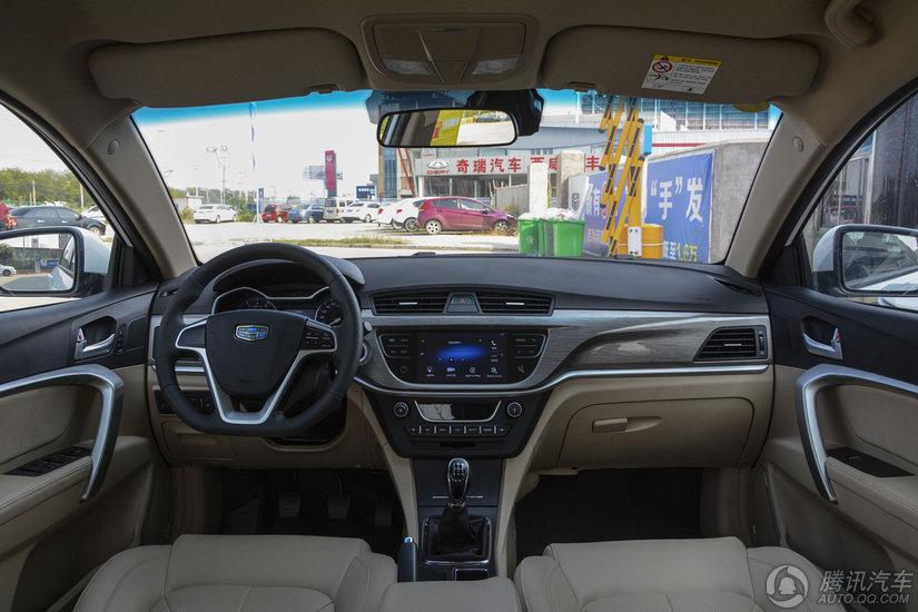 帝豪 2017款 三厢 百万款 1.5L MT向上型