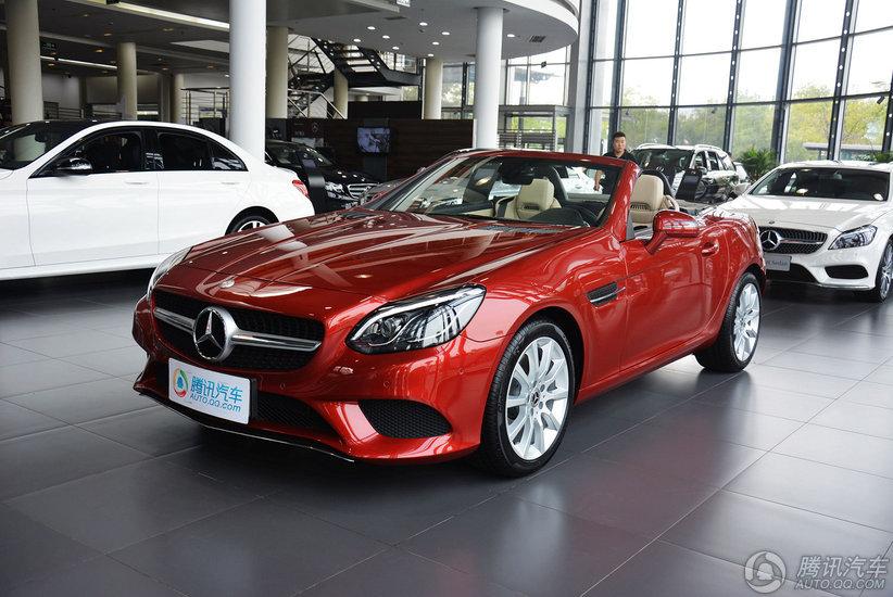 [腾讯行情]天津 奔驰SLC起售价51.88万元