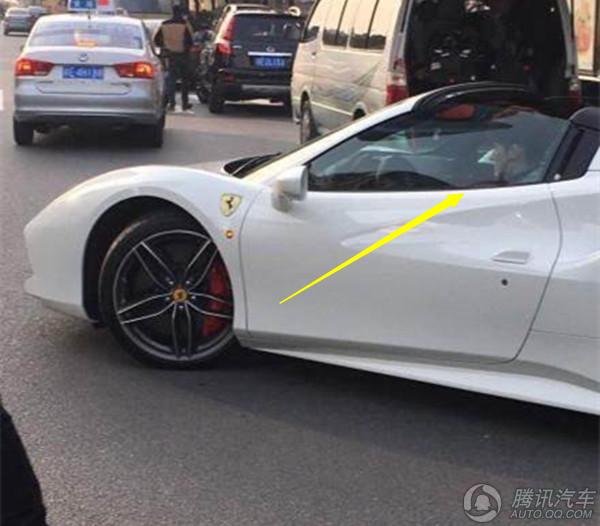 上海77777车牌法拉利出街 车主原来是他-车炫首页图片