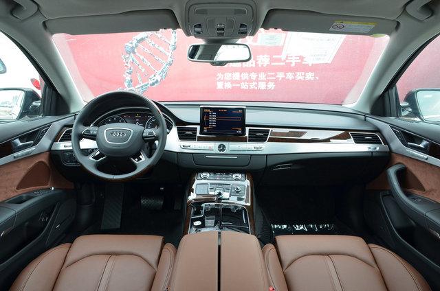奥迪A8L 2017款 45 TFSI quattro领先精英版