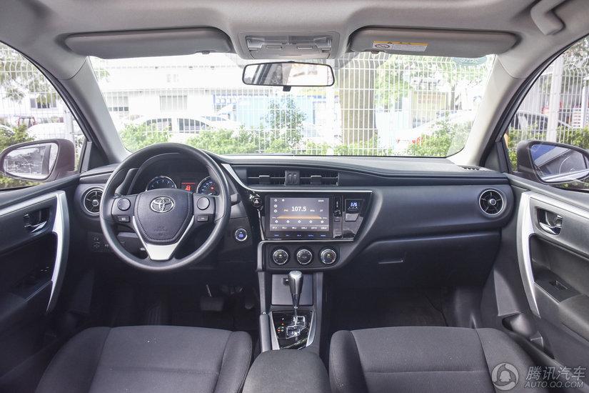 卡罗拉 2017款 改款 1.2T CVT GL-i
