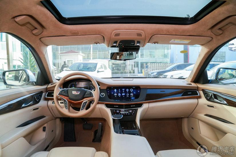 凯迪拉克CT6 2017款 40T AT四驱铂金版